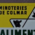 Plaque publicitaire vintage indus Spitz Colmar