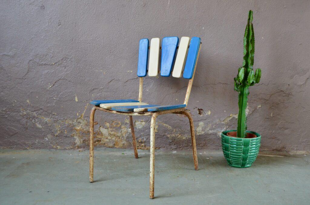 Chaise de jardin Victorienne