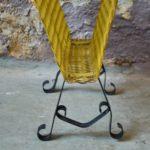 Porte revue porte journaux en fer forgé style art déco