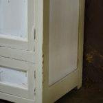 Buffet parisien Meuble rustique rétro commode haute en bois vintage