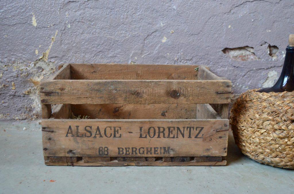 Caisse à bouteilles Gustave Lorentz