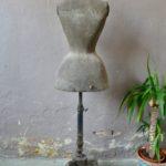Mannequin buste de couture ancien vintage décoration bohème