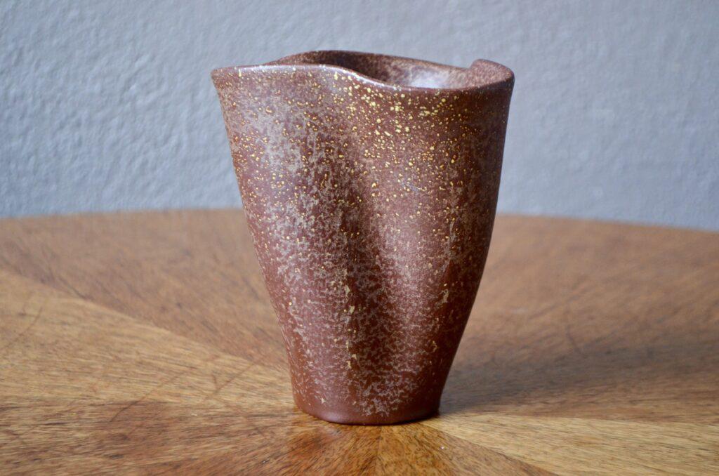 Vase mouchoir Elchinger chocolat