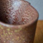 Vase mouchoir Fernand Elchinger forme libre années 50 vintage rétro