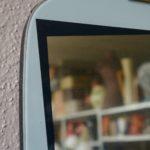 Miroir rétroviseur vintage rétro années 50 glace forme libre vintage