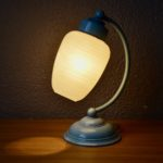 Lampe de chevet bohème ancienne vintage