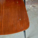 Paire de chaise design modernistes france 1950 style indus