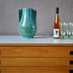 Meuble à plans rétro meuble de métier en bois commode d'architecte vintage table basse années 60