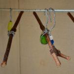 armoire de poupée vintage Jouet en bois enfant idée cadeau petite fille jeu ancien
