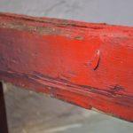 Paire de tréteaux d'atelier pour table basse style usine industriel