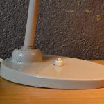 Lampe de bureau Bauhaus métal indus années 30 atelier Bünte et Remmler